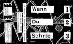 Jazzlyrik live: WANN DU SCHRIE